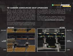 Old Boston Garden Seating Chart A Look At Td Gardens Ongoing Overhaul Stanley Cup Of Chowder