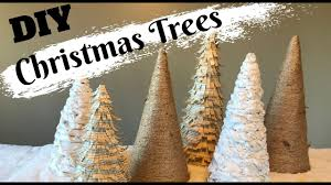 Christmas Tree Cone With Lights Diy Christmas Tree Cones Table Top Decor Farmhouse Inspired