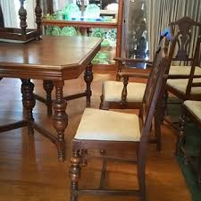 antique dining room chairs. Wonderful Antique Antique Table And 6 Chairs In Dining Room Chairs T