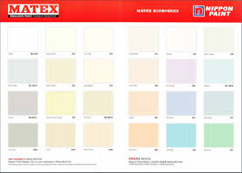 Nippon Paint Colour Chart Malaysia Skillful Nippon Matex Colour Chart Wall Paint Colors Catalog