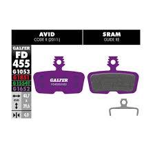 E Bike Brake Pad G1652 Avid Code Violet
