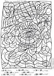 Coloriage Magique Cp Calcul Mental Niveau 2 L L L L L L L L