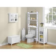 bathroom space savers bathtub storage: jenlea bathroom space saver ampquot w x ampquot h over the toilet storage