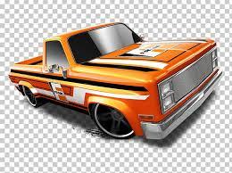 Car Chevrolet Silverado Pickup Truck Hot Wheels PNG, Clipart ...