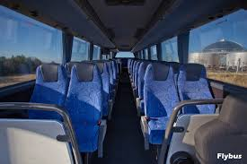 reykjavik airport shuttle bus in iceland comfortable seats airport shuttle bus