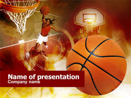 Basketball Powerpoint Template Free Womens Basketball Powerpoint Template Backgrounds 00508