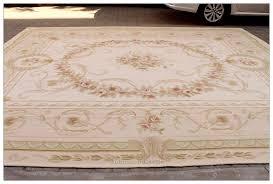 aubusson rug beige cream 12x15