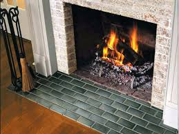 fireplace hearth ideas tile paint