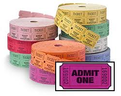 custom roll tickets featured products