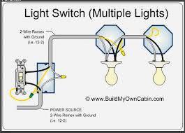 wiring diagram for multiple lights on one switch images way wiring pot lights series or parallel diagram