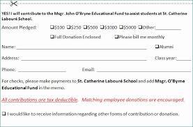 Download 11 Donation Pledge Card Template Donation Pledge Card