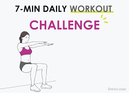 7 minute daily workout challenge
