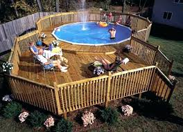 above ground pool deck kits. Pool Deck Kit Above Ground Swimming Pools  Designs . Kits