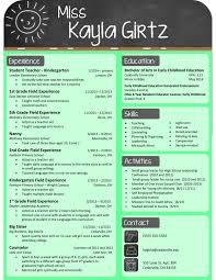 Amazing Resume For Teachers Horsh Beirut