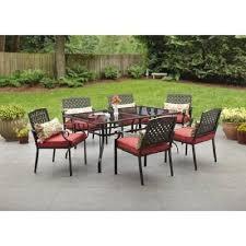 7 piece patio dining set. Outdoor Wrought Iron Alexandria Crossing 7-piece Patio Dining Set Seats 6   EBay 7 Piece G