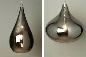 home improvement glass pendant light shades style lily and smoke lights at staggering modern decoration design