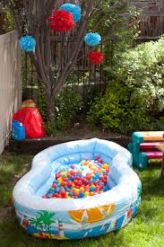 fun ideas for a birthday party at home. 1st birthday party activity / entertainment: ball pit! great idea considering baby #2\u0027s fun ideas for a at home