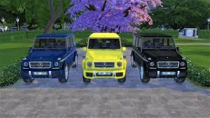 Mercedes-Benz G63 AMG at LorySims » Sims 4 Updates