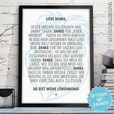 Löwenmama Geschenke Bild Mit Rahmen Geschenkidee Zum Muttertag Geburtstag Muttertagsgeschenk Für Frauen Mamas Mutti Mutter Mum Mama Eltern