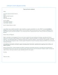 10 Sample Unemployment Appeal Letter Invoice Example 2017 Medical