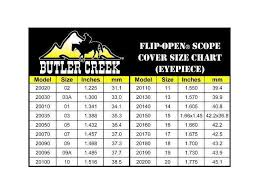 Butler Creek Scope Caps Chart Butler Creek Flip Open Eyepiece Scope Cover Size 18 1 7 Inch 43 2mm