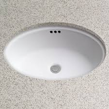 undermount bathroom sink oval. Interesting Bathroom Dartmouth Vitreous China Oval Undermount Bathroom Sink With Overflow For O