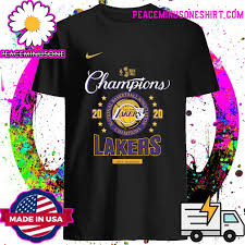 Find great deals on ebay for los angeles lakers t shirts. Official Los Angeles Lakers Nba Champions Championship 2020 Shirt Hoodie Sweater Long Sleeve And Tank Top