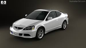 360 view of Acura RSX Type-S 2005 3D model - Hum3D store