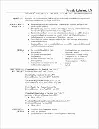 New Grad Rnsume With No Experience Philippines Sample Rn Resume