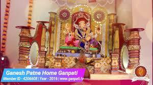 ganesh patne home ganpati decoration video ideas www ganpati