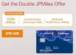 Jpmiles Upgrade Chart Grab 25 000 Jp Miles With Icici Jet Sapphiro Credit Card