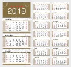 Week Number Calendar Wall Quarterly Calendar 2019 With Week Numbers Week Start From