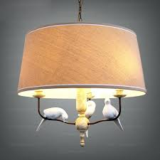 chandeliers with drum shade shades and 3 light fabric material chandelier diy chandeliers with drum shade