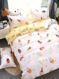 ice cream bedding uk print set p cat