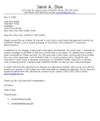 Sample Cover Letter For Entry Level Job Recruiter Cover Letter Entry Level Under Fontanacountryinn Com