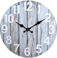 decorative wooden beach clocks that