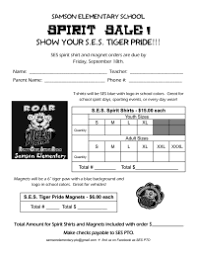 fundraising forms fundraiser forms letters pto today