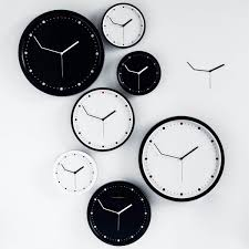 wall clock for office. Clocks, Office Wall Clock Clocks Ikea Black And White With Different Size For