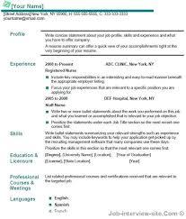 Resume For New Nurse With No Experience New Nurse Resume No
