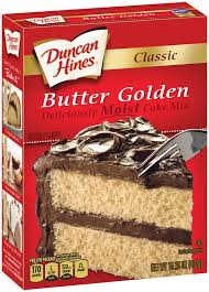 Duncan Hines Classic Butter Golden Cake Mix Reviews 2019