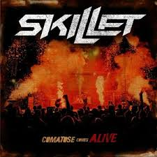 skillet monster album cover. comatose comes alive. skillet monster album cover