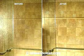 glass shower doors best cleaner to remove soap s get for cleaning with bar keepers friend