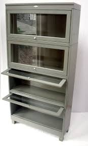 barrister bookcase with glass doors stunning narrow bookcase