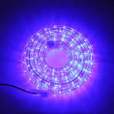 Super Bright Plasma Expandable LED Plug-in Rope Lights, Blue