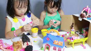 sắp xếp quán ăn cho ngôi nhà búp bê baby Tina chanel   Nhà búp bê, Nhà, Búp  bê