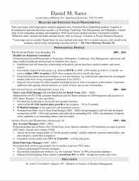 Medical Sales Resume Examples Examples Of Resumes