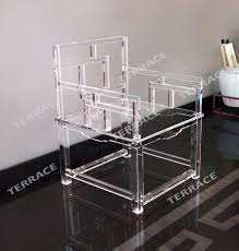 clear acrylic furniture. Clear Acrylic Empire Chinese Chair,Lucite Arm Chairs Furniture