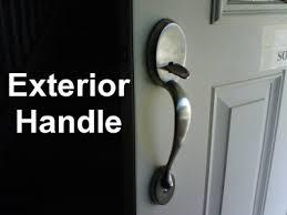 kwikset front door handleBloggityBlogBlogBlog Tales of Stepford House  Front Door Problems