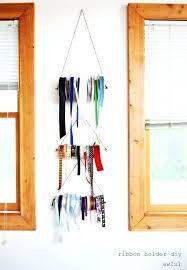 creative ribbon storage ideas ribbon wall storage home interior decor parties
