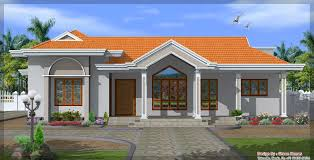 Interesting Exterior House Design One Floor Designs Kerala Planner Home Intended Perfect Ideas